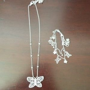 Brighton Jewelry Butterfly set
